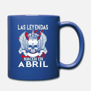 Abril April - Legende - Geburtstag – ES - Tasse
