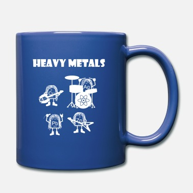 Heavy Heavy metals, rocking heavy metals - Full Colour Mug