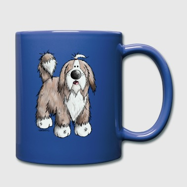 Bearded Collie - Kubek jednokolorowy