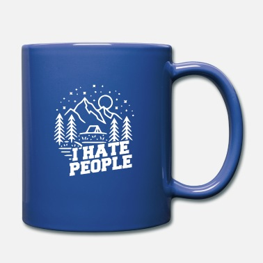 Hate I hate people - Mug