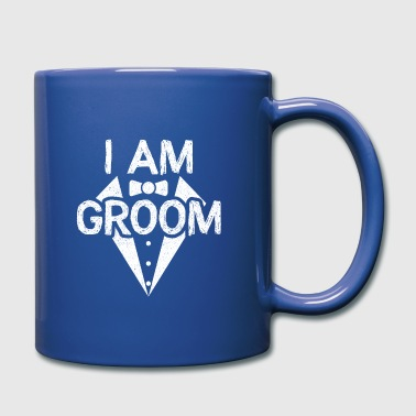 Padre E Figlia I Am Groom Funny Wedding Marriage Gift - Tazza monocolore