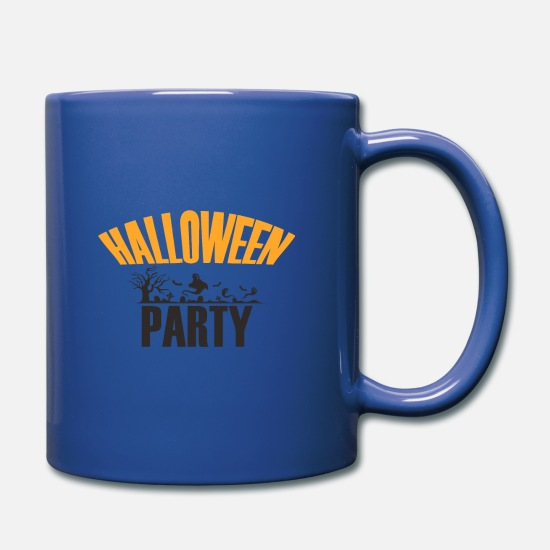 Trick Or Treat Tassen & Becher - Halloween party - Tasse Royalblau