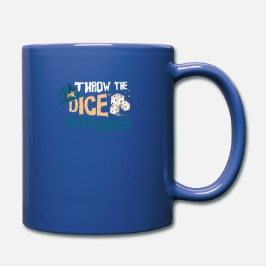 Dice Roll the dice witch Halloween motif - Mug