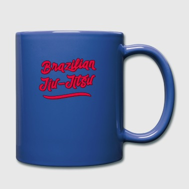 Jiujitsu BJJ Brazilian JiuJitsu MMA Grappling - Full Colour Mug