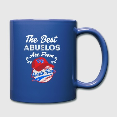 Pay Puerto Rico Baseball Best Abuelo Fathers Day - Full Colour Mug