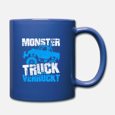 Estado De Ánimo Monster Truck Crazy - Taza de un color