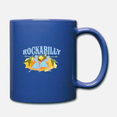 Rockabilly rockabilly - Taza de un color