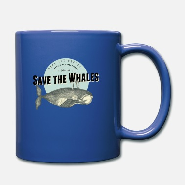 Save The Whales Save the whale - Full Colour Mug