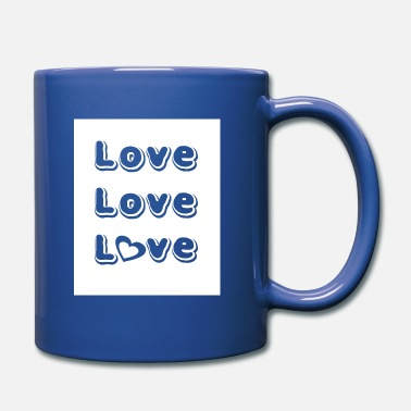 Font Love font, love font - Full Colour Mug