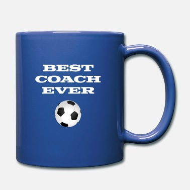 Trener Najlepszy trener Ever Football Coach Gift Ball Sports - Kubek jednokolorowy