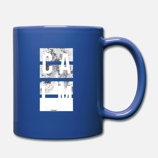 Gift Idea Mugs & Drinkware - Joie de vivre Traveling Serenity Shirt Gift Idea Calm - Mug royal blue