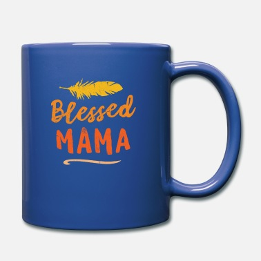 Caribbean Blessed Mama Puerto Rico Mom Mothers Day - Full Colour Mug