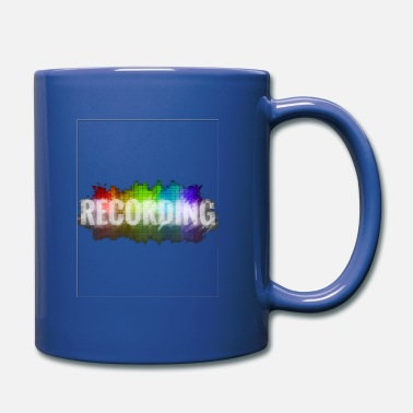 Record Recording - Full Colour Mug