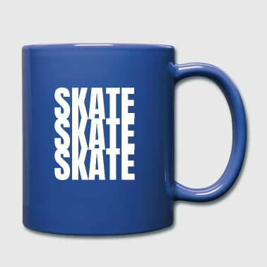 skate skate skate skateboarding - Full Colour Mug