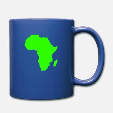South Pole Africa, continent, Europe, Asia, America, South - Mug