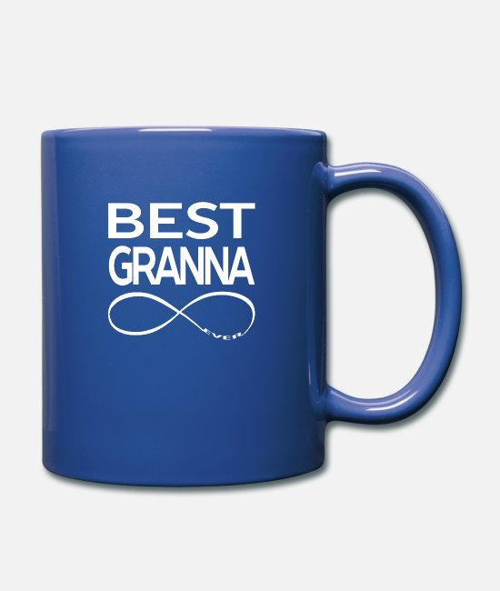 Mami Mugs & Drinkware - BEST GRANNA EVER - Mug royal blue