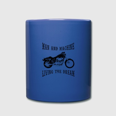 Man & Machine - Full Colour Mug