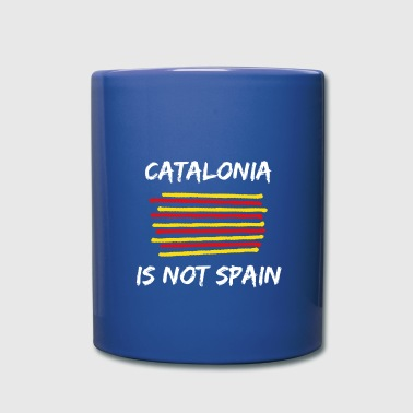 Catalonia Scratch - Full Colour Mug