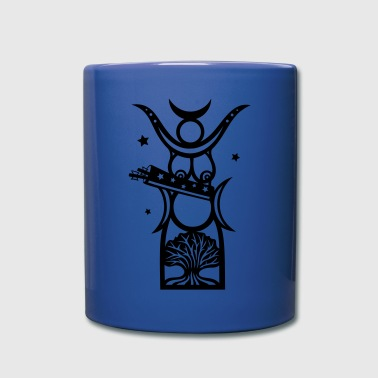 Diana, goddess of the forest, moon goddess - Full Colour Mug