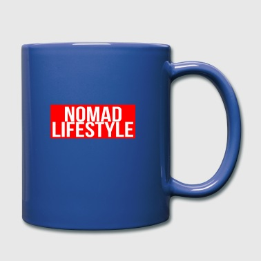 nomad lifestyle red - Full Colour Mug