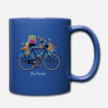 Animal forest animals on a bike  - Mug