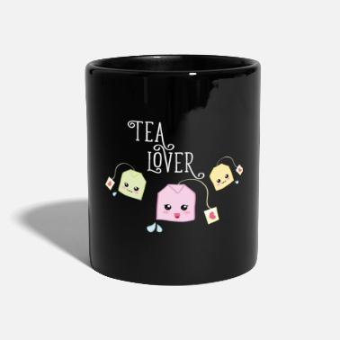 Tea bag kawaii - Kubek jednokolorowy