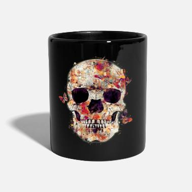 Pirate skull-and-butterfly - Mug uni
