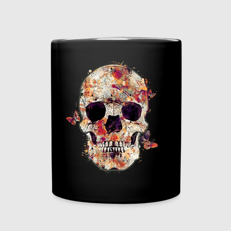 skull-and-butterfly - Mug uni