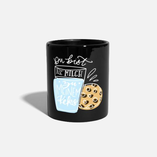 Love Mugs & Drinkware - You are the milk to my biscuit - Mug black