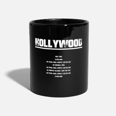 Hollywood hollywood - Yksivärinen muki