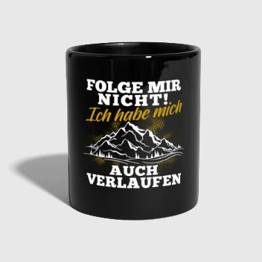 Mountains Shirt · Mountaineering · Hiking · Run - Full Colour Mug