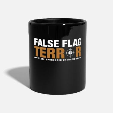 False Flag Terror tshirt - Full Colour Mug