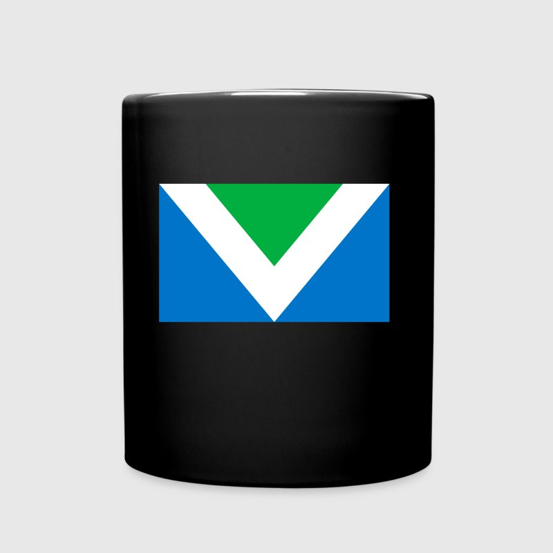 Internationale Vegan Fahne Flag Flagge - Tasse einfarbig
