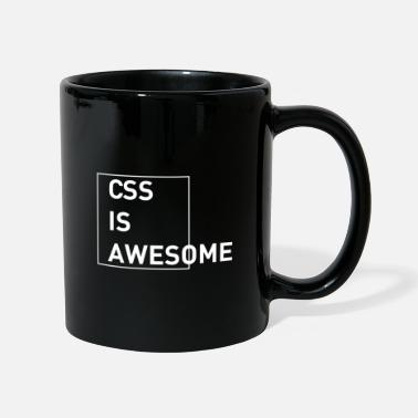 CSS is awesome - Tasse einfarbig