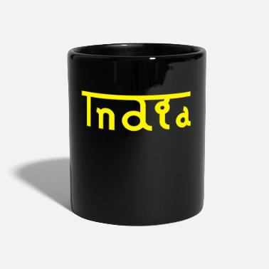 India india - Tazza monocolore