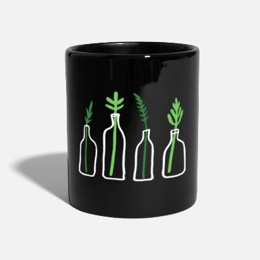 Plant Grounds Plant Graphic Plant In Bottle - Mug