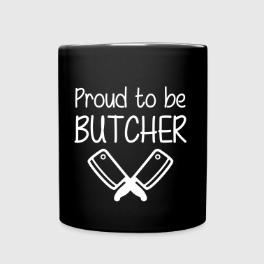 Proud to be Butcher - Yksivärinen muki