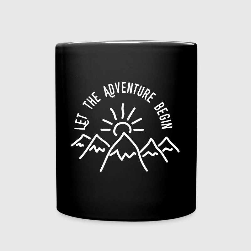AD Let the Adventure Begin - Tasse einfarbig