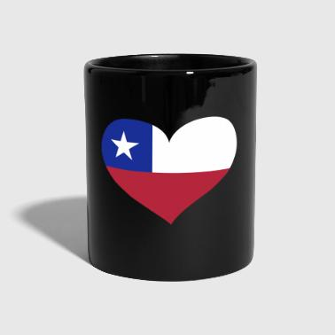 Chile Herz; Heart Chile - Mug uni