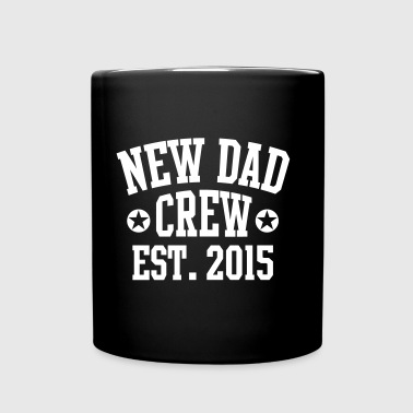 NEW DAD CREW Established 2015  - Ensfarvet krus