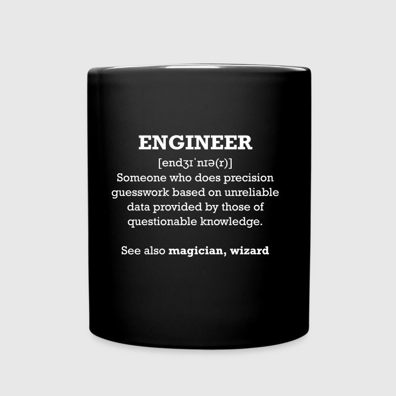 ingegnere - Engineer - Tazza monocolore