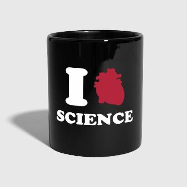 I love Science - Tasse einfarbig