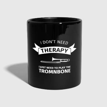 I don't need therapy I just need to play the tromb - Mok uni