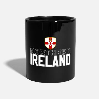Northern Ireland Northern Ireland retro jersey - Full Colour Mug