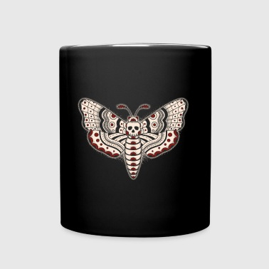 Death-Head-Moth-Dark - Tasse einfarbig