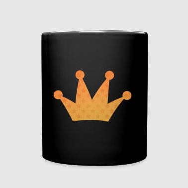 Crown with stars yellow - Full Colour Mug