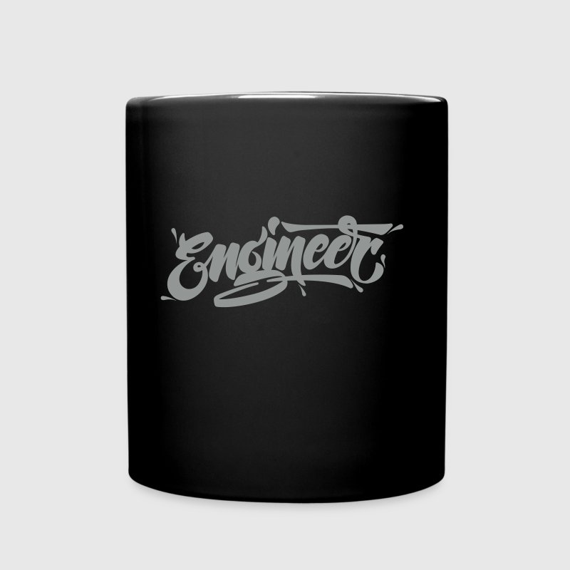 Engineer (Typography Logo) - Taza de un color