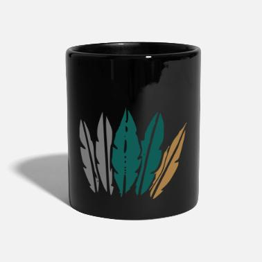 Jewelry feather jewelry - Full Colour Mug