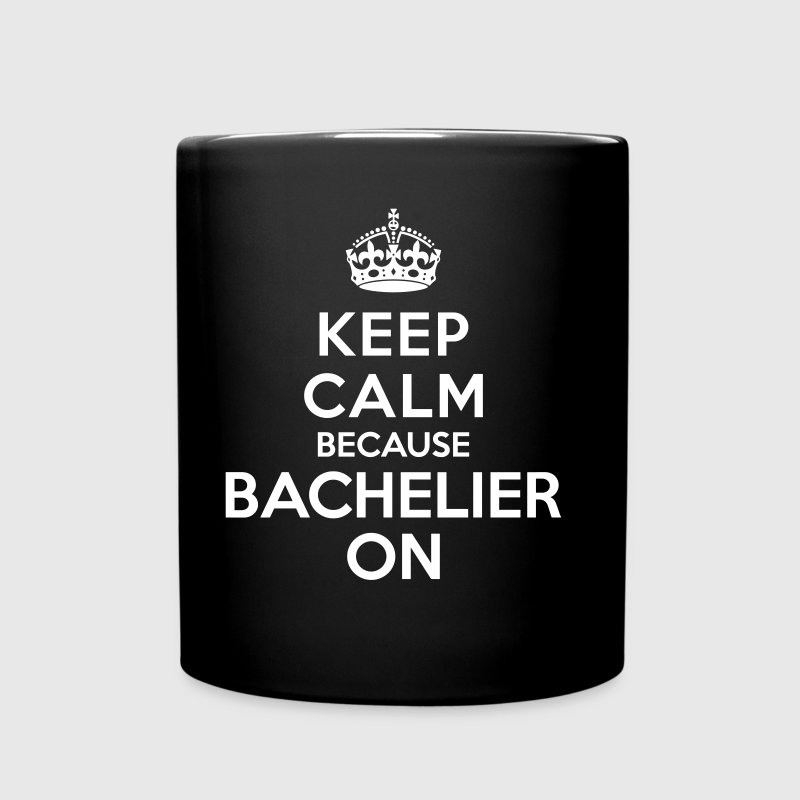 Keep calm bachelier on - Mug uni