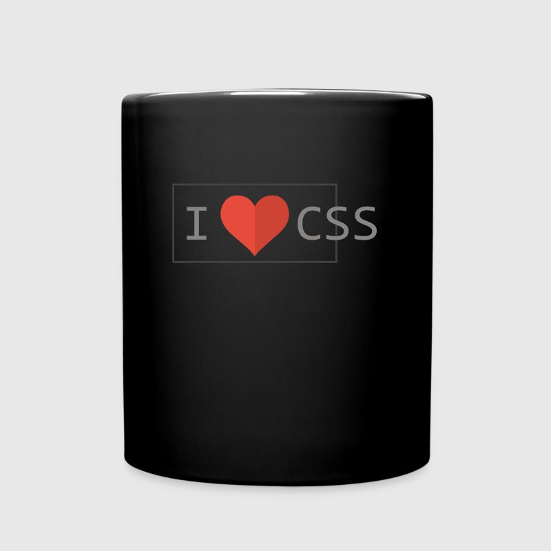 I Love CSS - Full Colour Mug